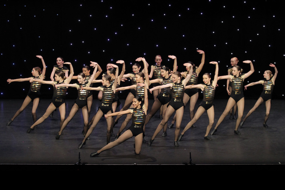 Jazz Dance eisteddfod team