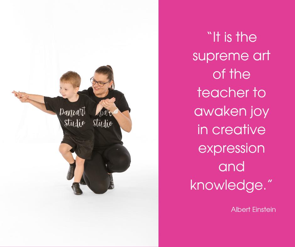 Nurturing dancing teachers at Danzart Studio.