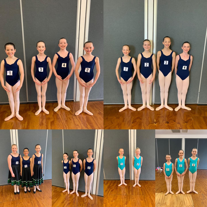 Royal Academy of Dance ballet exams.  Classical ballet.