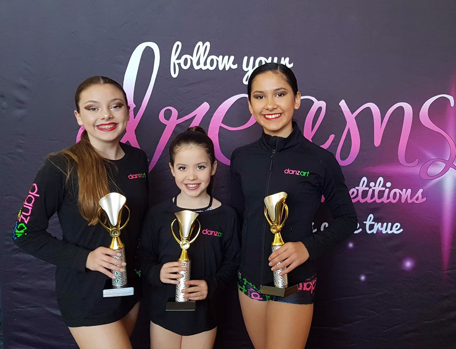 Dance competition winners.