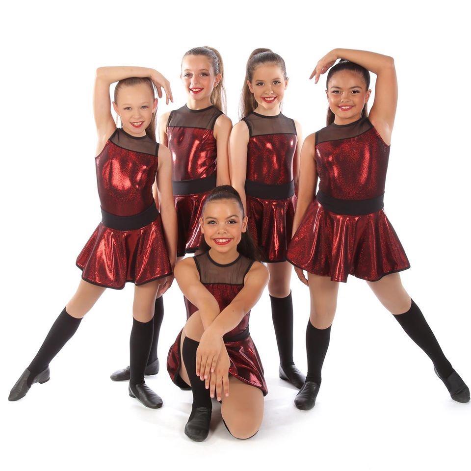 Pre-Teen Jazz Dancers