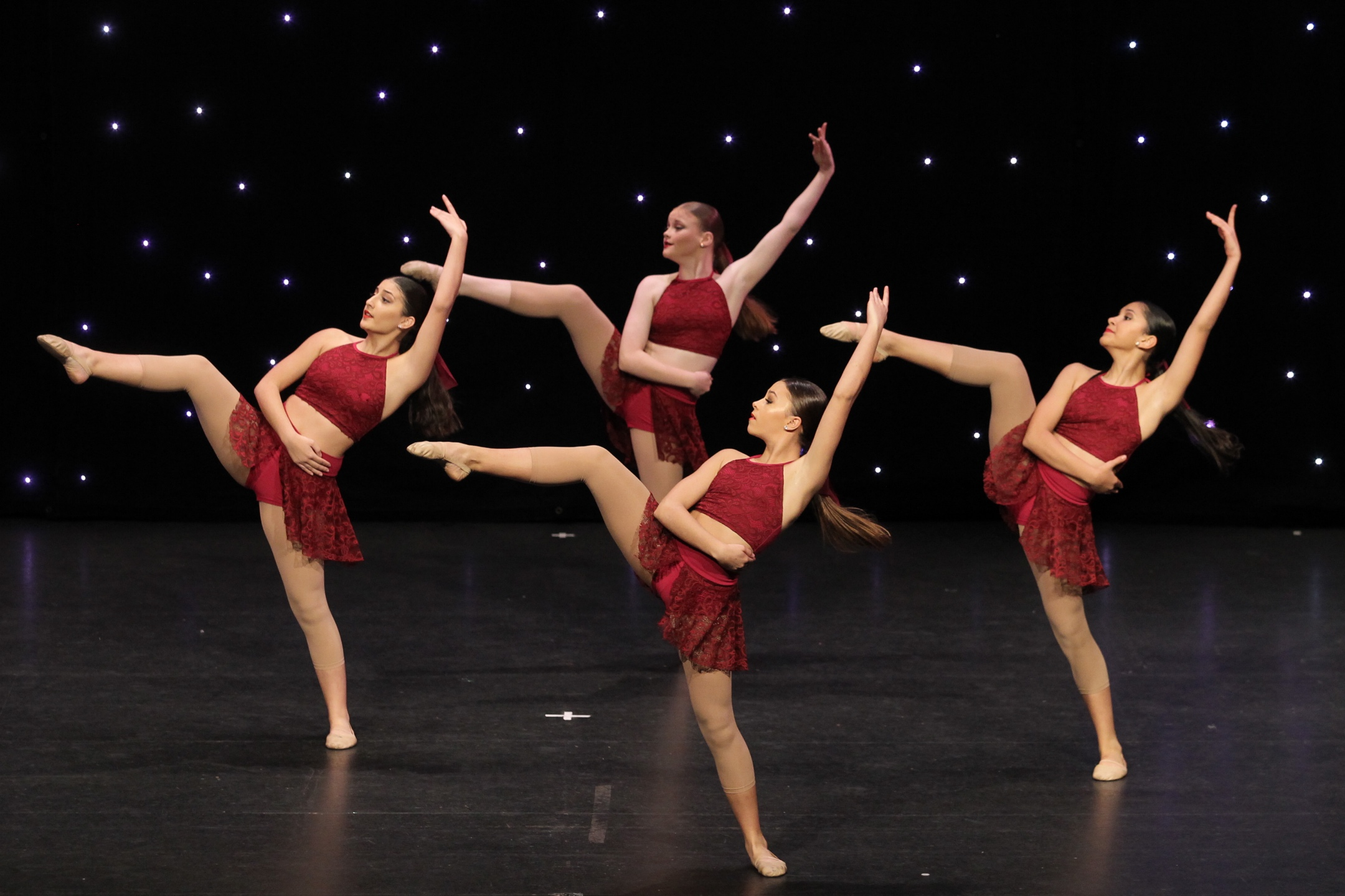 Contemporary Lyrical Dancers
