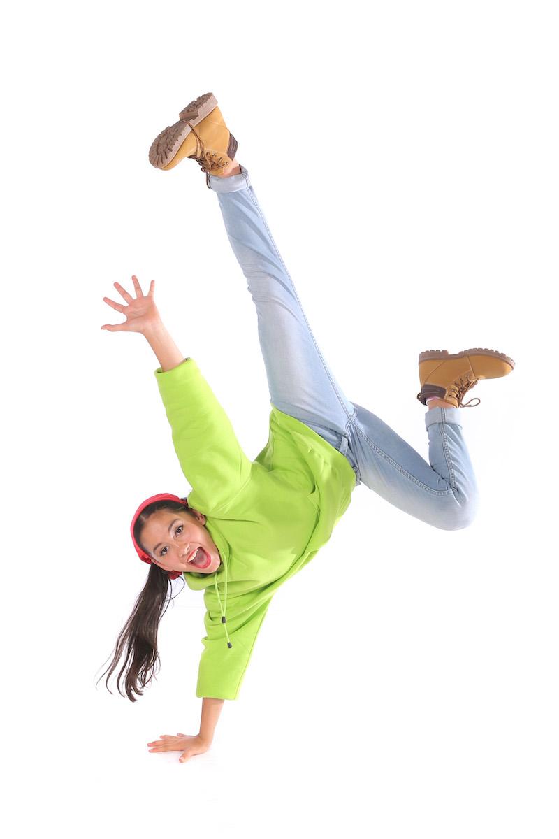 Hip Hop Break Dancer